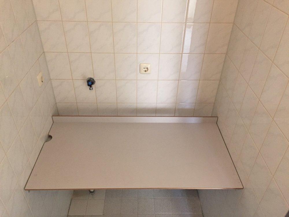 Badkamer werkblad — Recipro-A