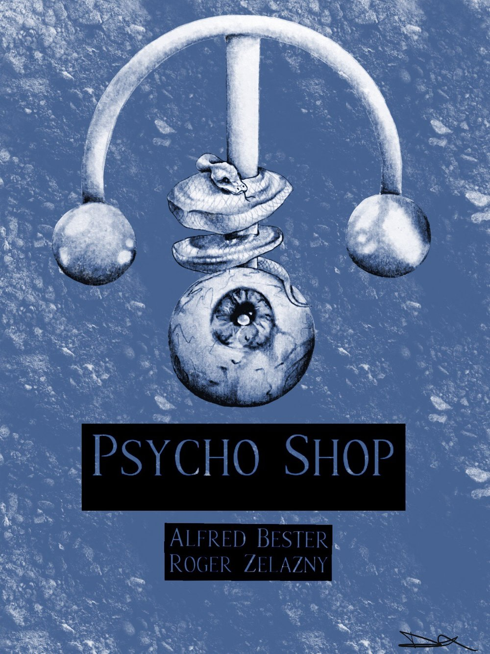 Book Cover Re-Work Psycho Shop