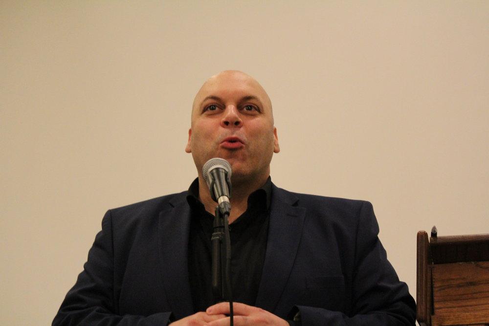 Detroit Comedian Amr Zaher