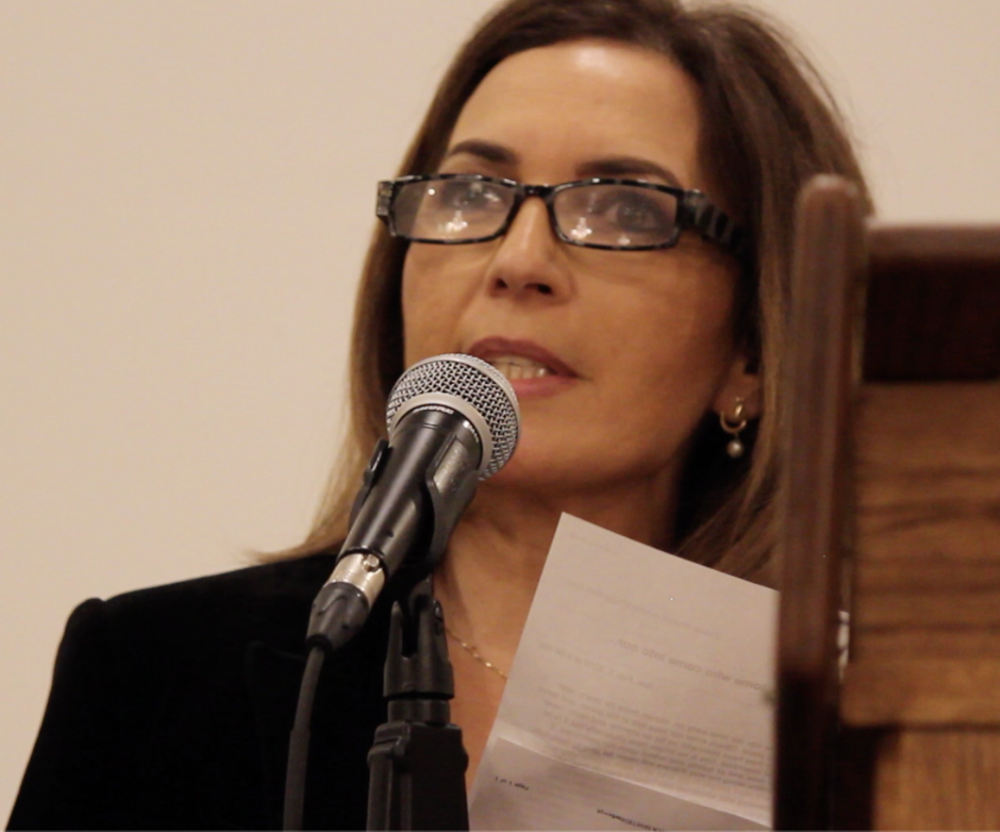 Attorney Vivian Khalaf offers the closing remarks