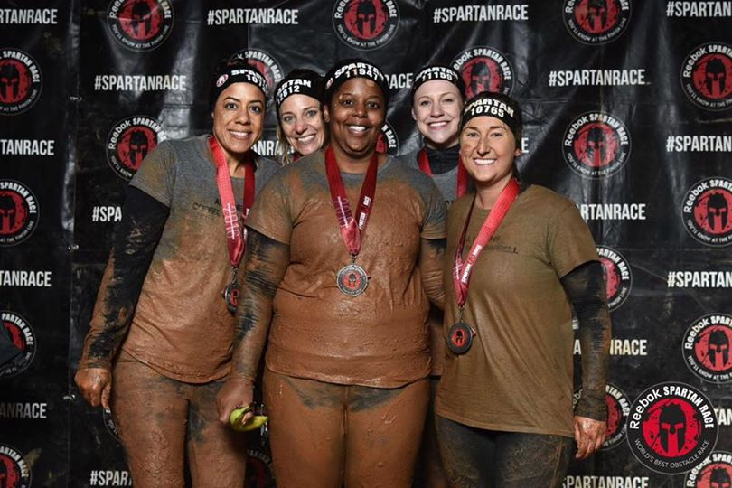 Spartan Race Victory Finish