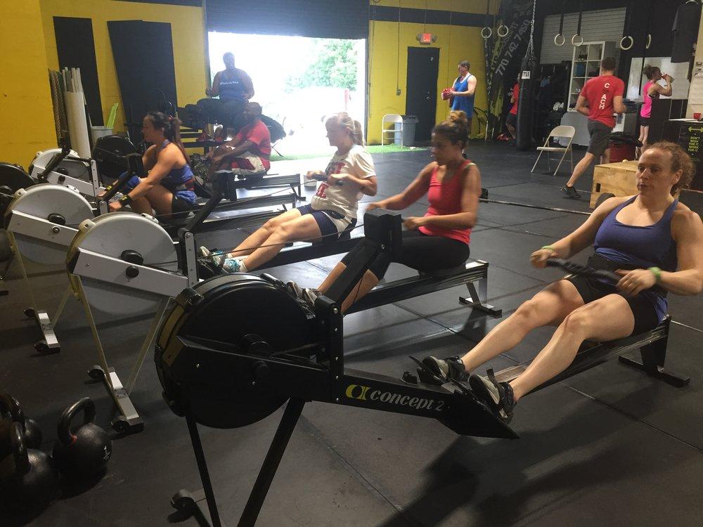 We Love To Row!
