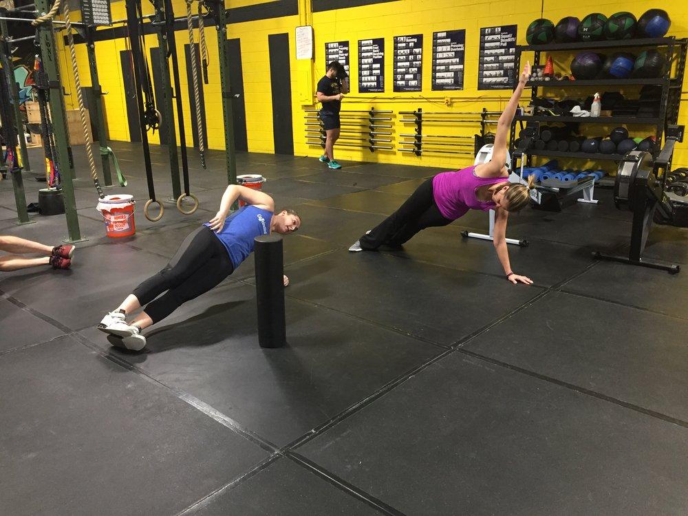 Side Planks!