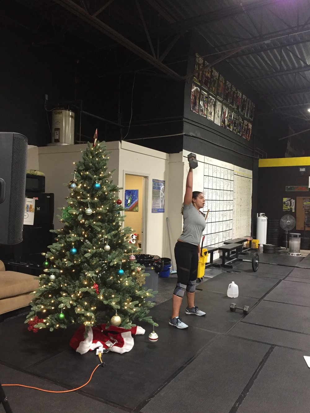 Christmas Lifting
