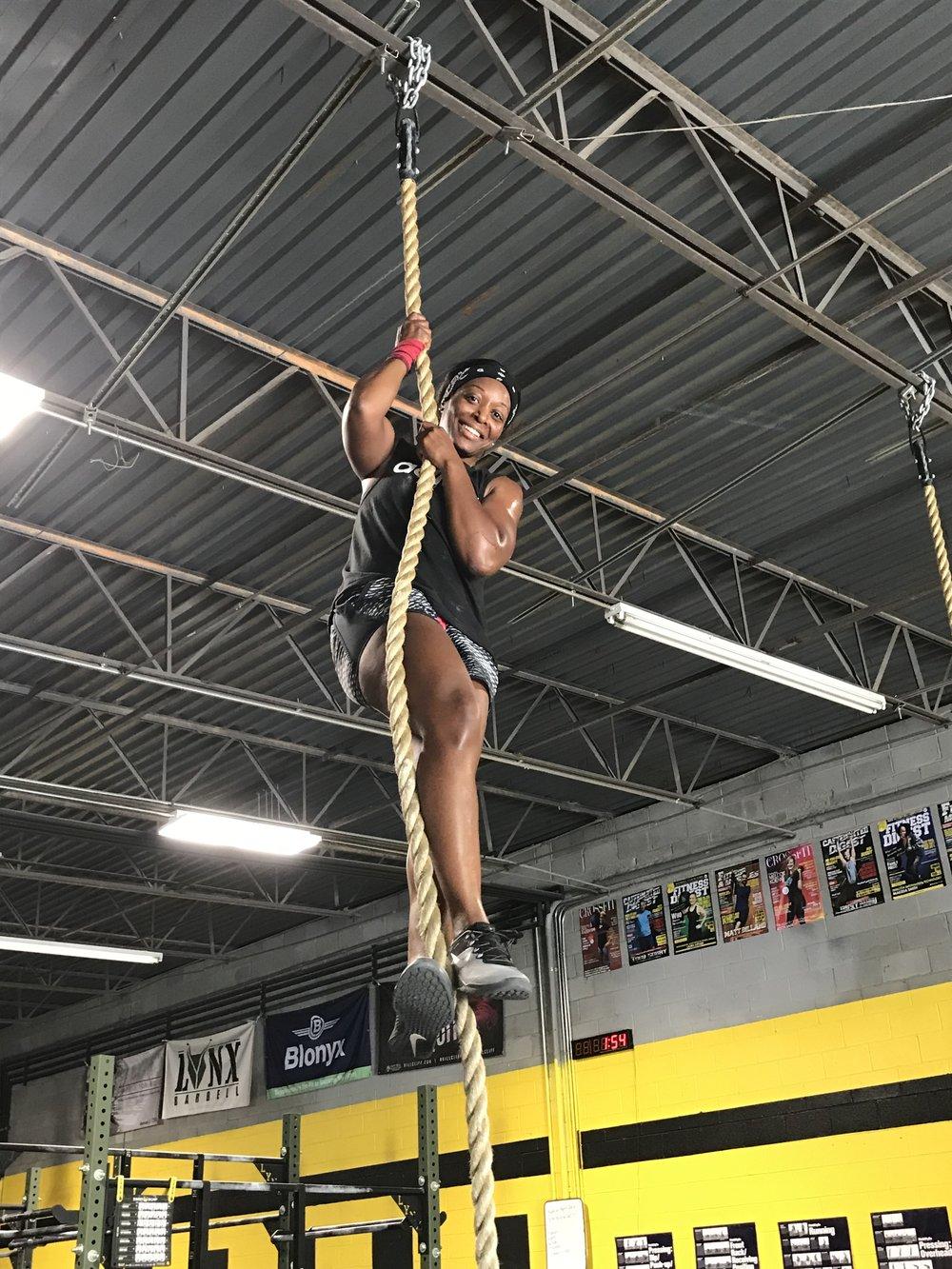 1st Rope Climb!