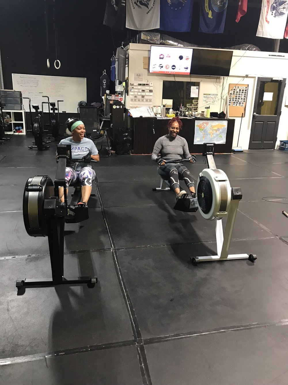 Rowing With Friends!