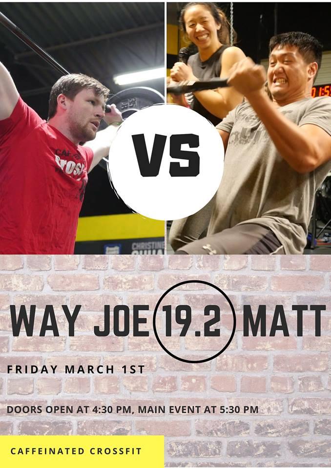 Way Joe vs. Matt