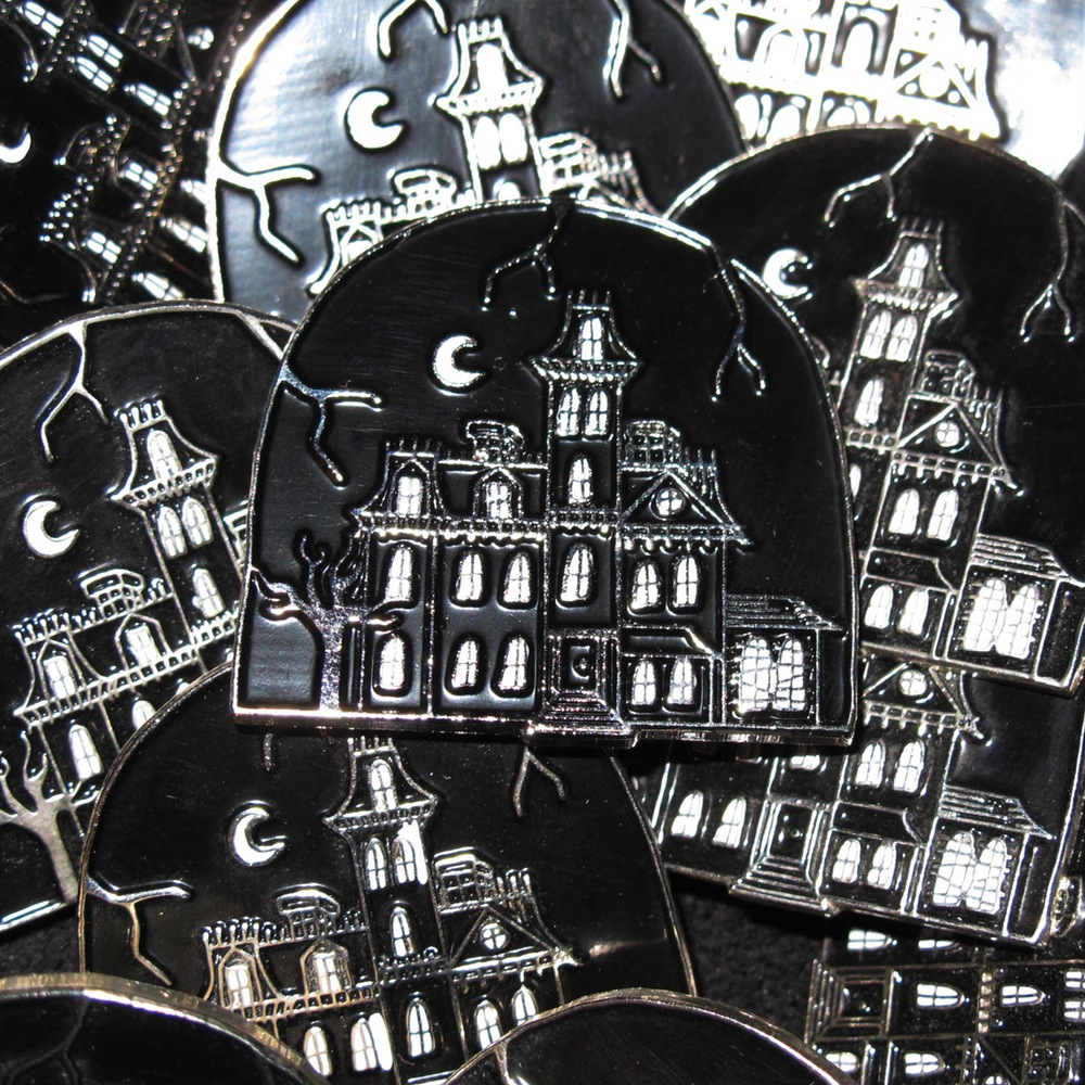 1313 Cemetery Lane Pin by Nothing Pins