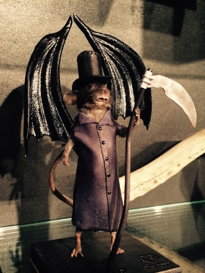 The Grim Reaper Mouse by Le Heart Designs