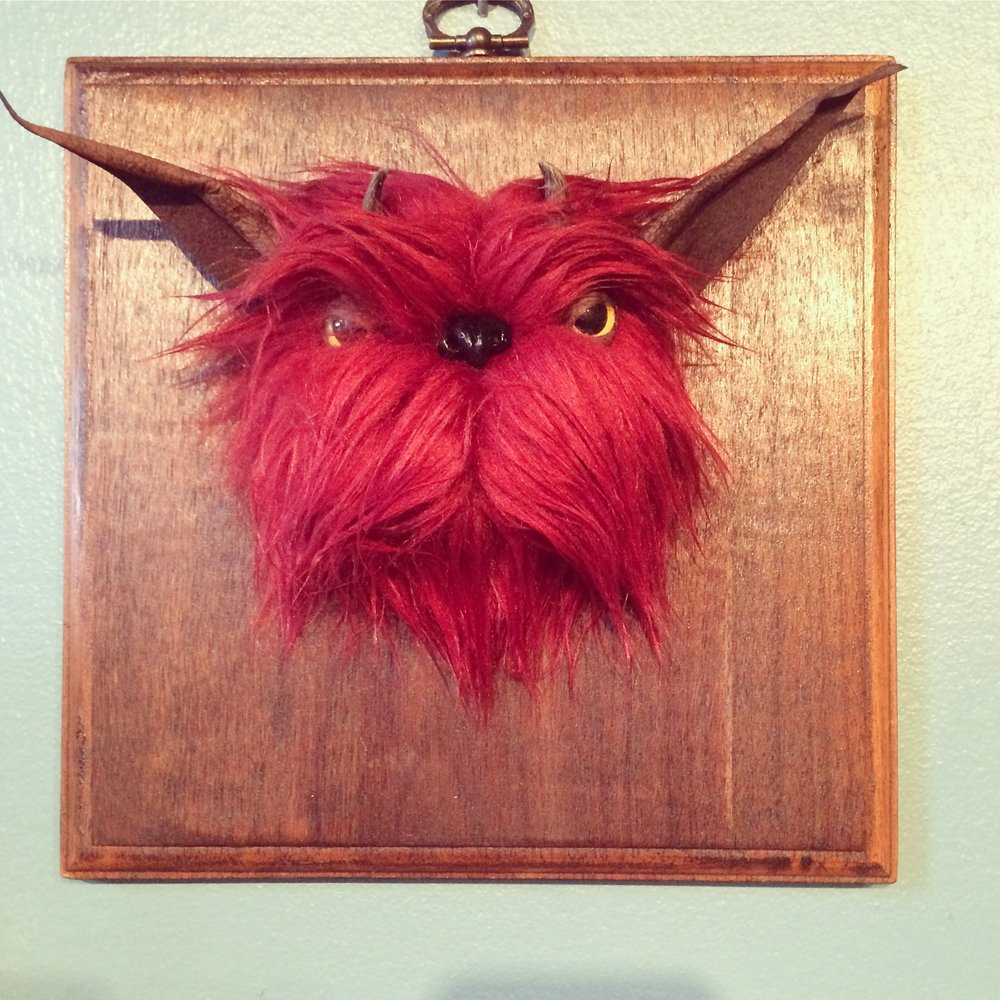 Faux Taxidermy Monsters by Nightmerriment