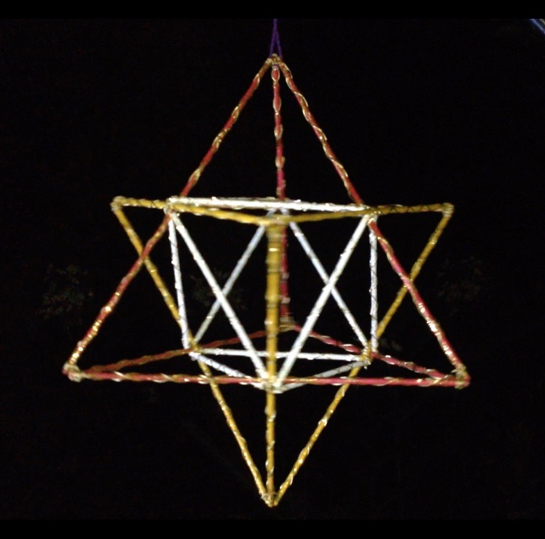 STAR TETRAHEDRON, CONE UP &CONE DOWN