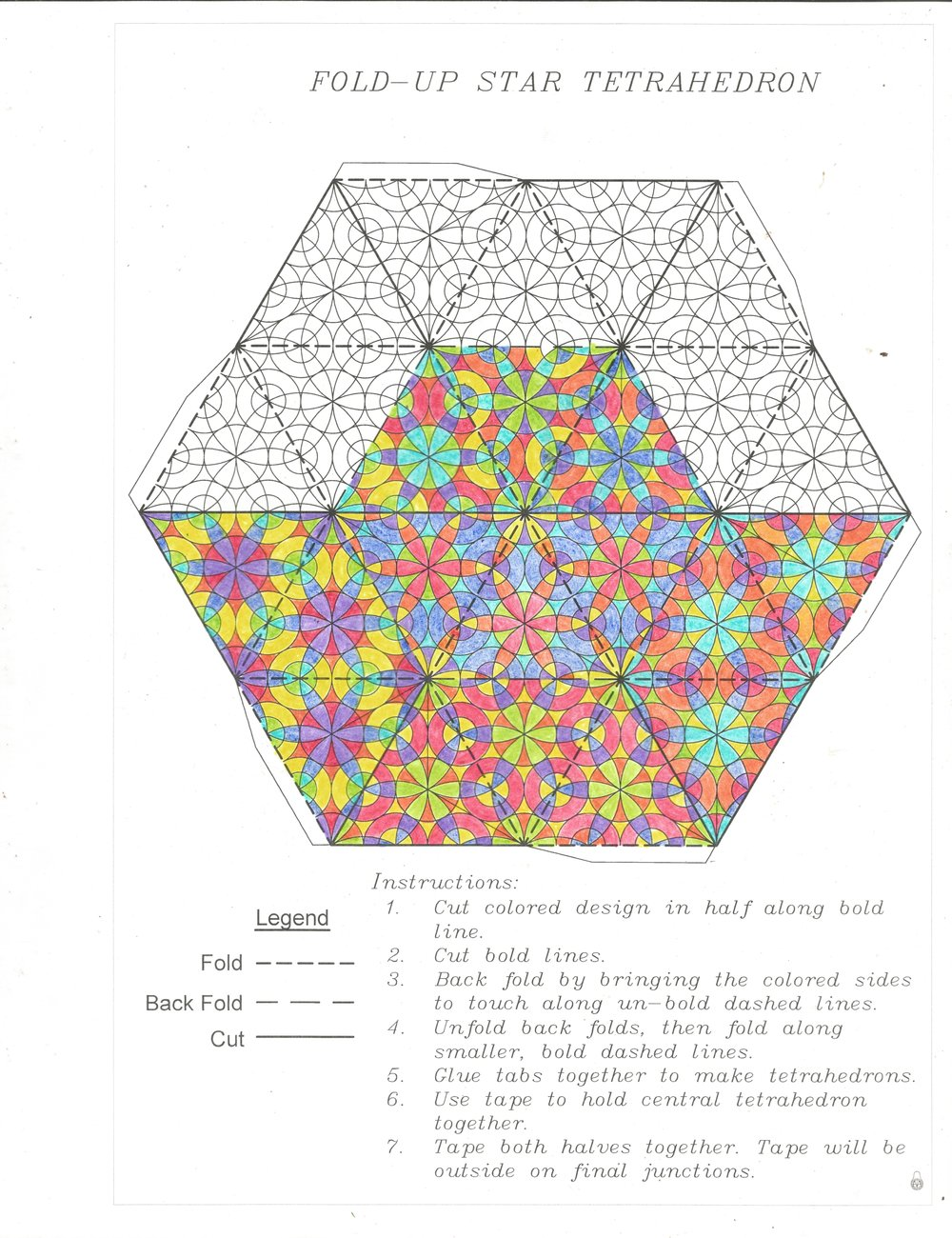 PATTERNS AND INSTRUCTIONS
