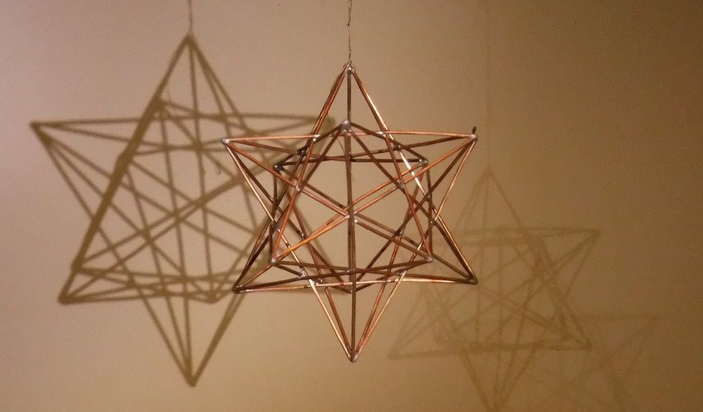Copper Stellated Dodecahedron