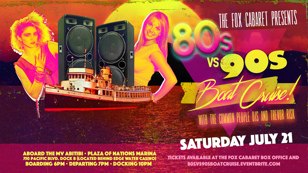 8os Vs 90s Boat Cruise