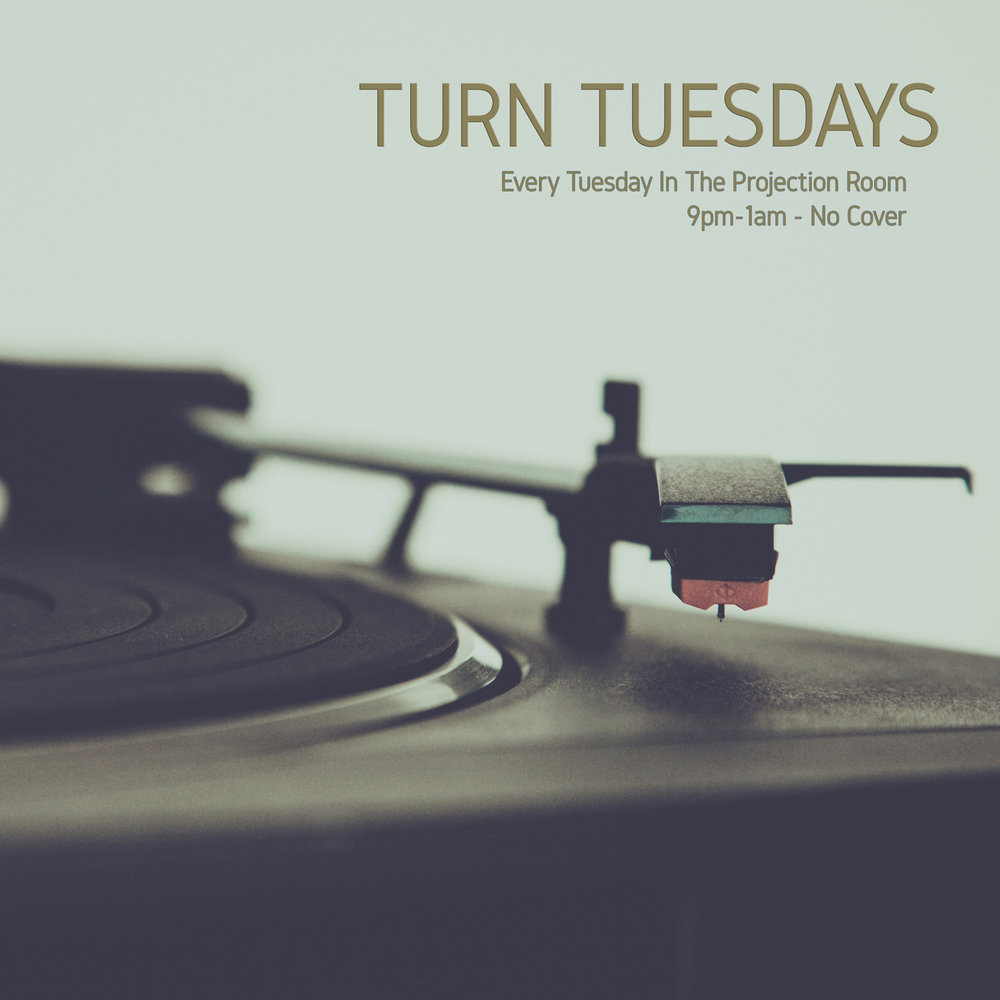 Tuesday Nights - TURN: Bring your Own Vinyl PartyEvery week Adam Fink + Bryan Sea host an open mic style DJ platform where you bring your own records and share some of your favourite tunes with other vinyl lovers. All of the necessary equipment will be at the bar. Just be sure to bring yourself and a handful of your favourite vinyl records! Wanna guarantee yourself a spot behind the tables? Email us at turn@foxcabaret.com to book a spot during one of our free play hours.9pm —1am in The Projection Room | FreeSponsored by Ignite Pizzeria