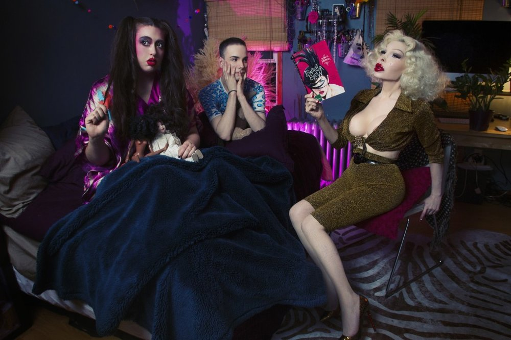 photo by  Ryan Burke  featuring  Amanda Lepore