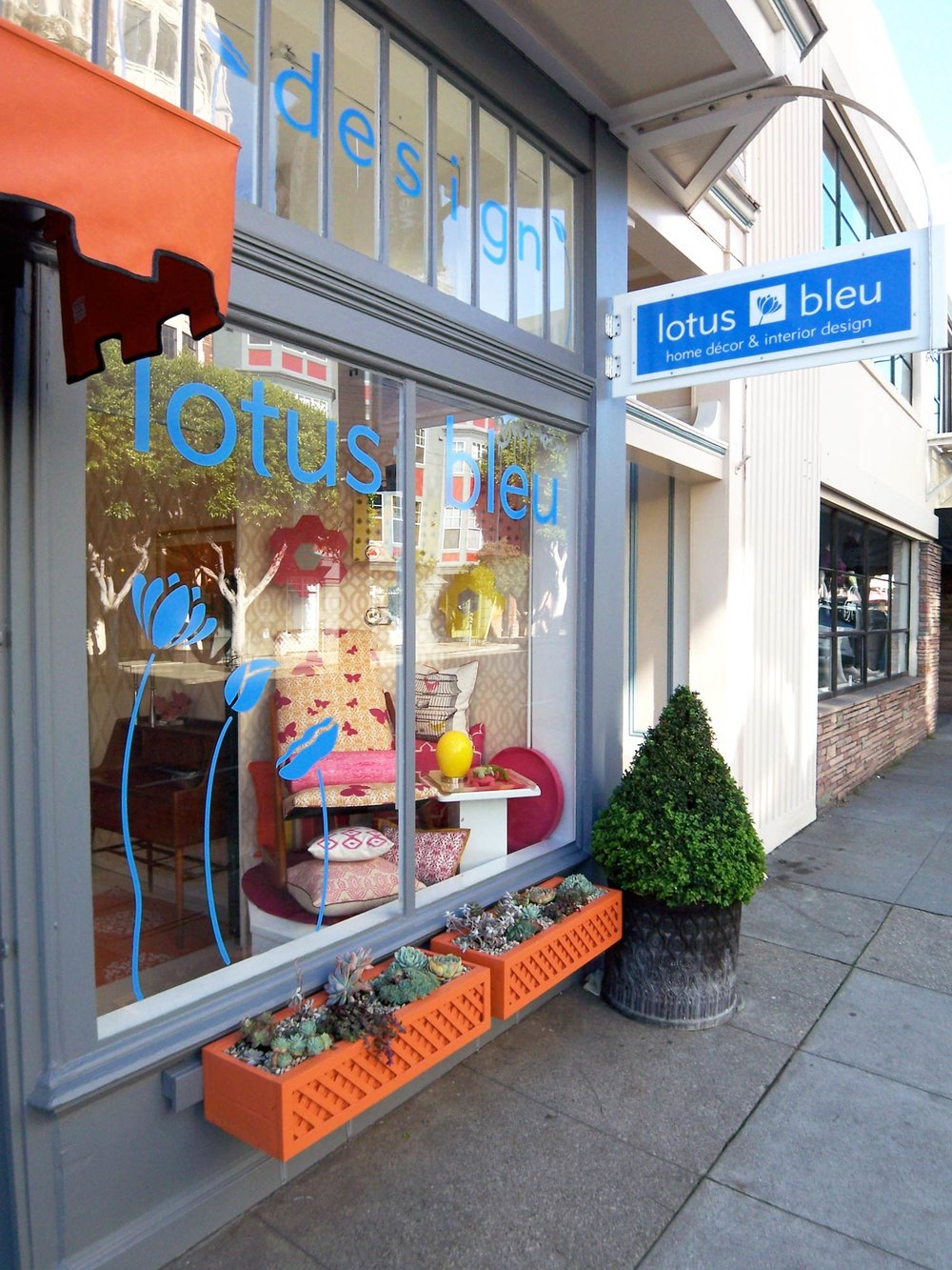 Hayes Valley Boutique and Design Studio by Lotus Bleu Design