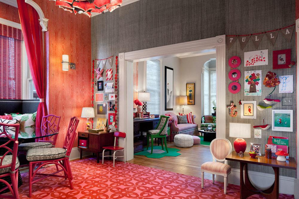 Liberty Hill Chez Fraise by Lotus Bleu Design