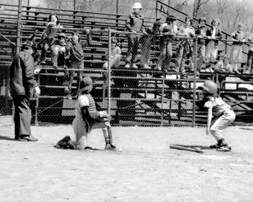 Elizabeth Osder, the first girl to play in competitive Little League Baseball.