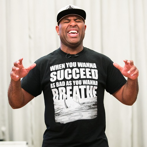 "Eric Thomas, ""The Hip-Hop Preacher"""