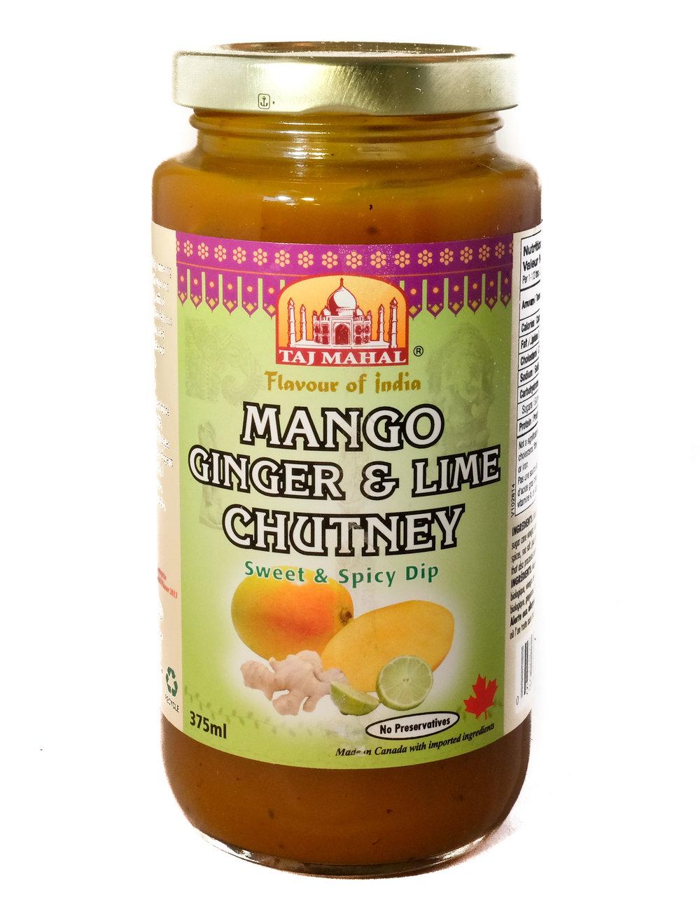 Mango Ginger & Chutney
