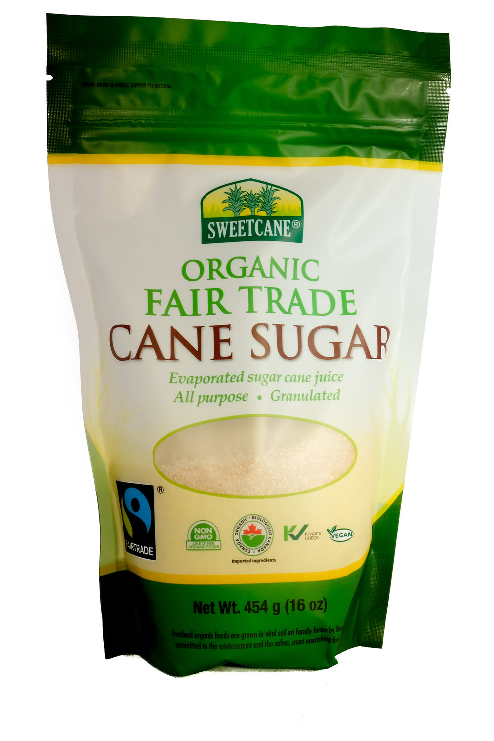 Organic Fair trade Cane Sugar