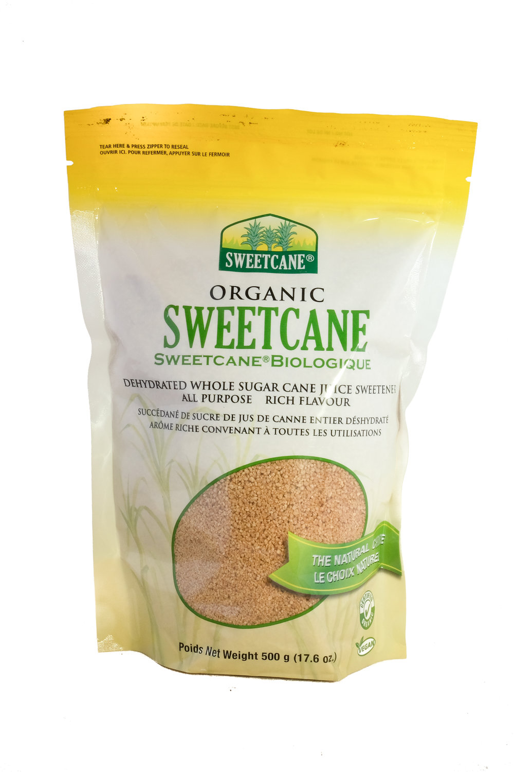 Organic Whole Sugar Cane