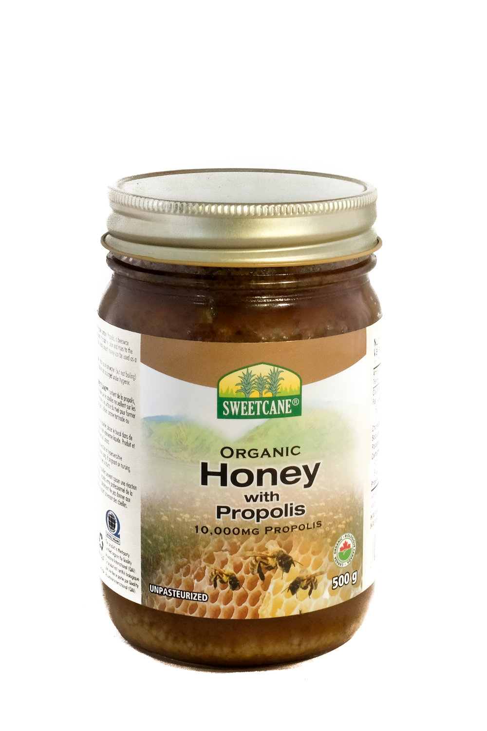 Organic Honey with Propolis