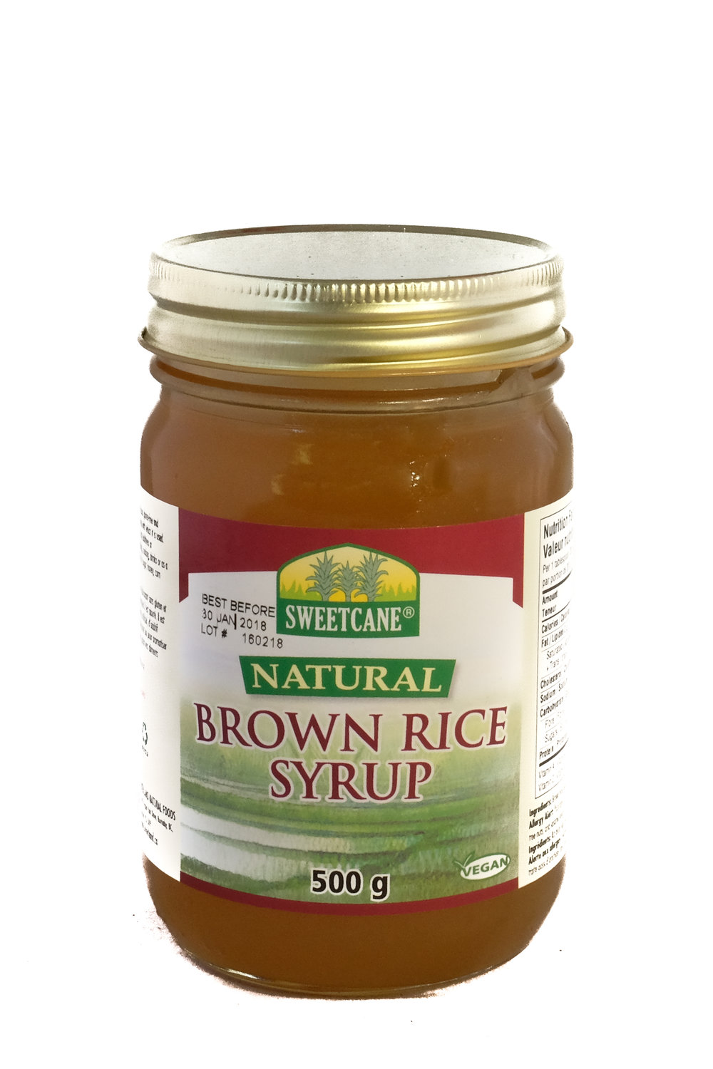 Natural Brown Rice Syrup