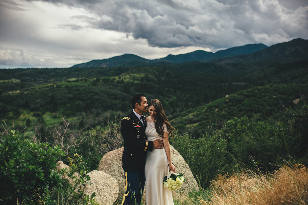 Cheyenne Mountain Wedding Photographer
