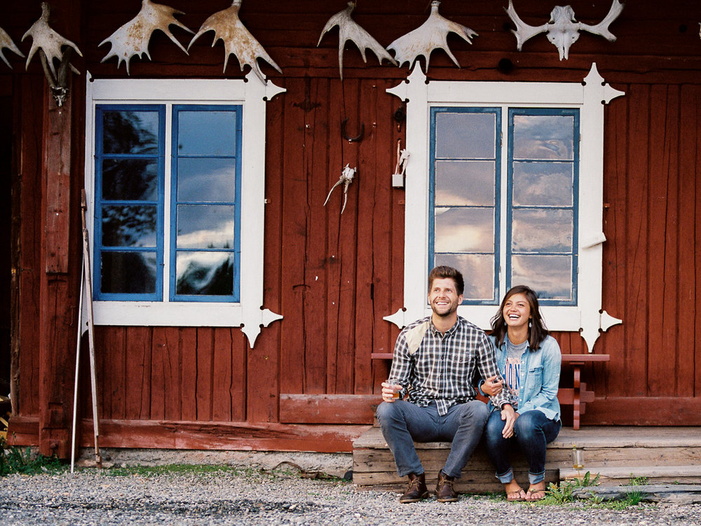 Sweden Colorado Wedding Photography on Hasselblad Film