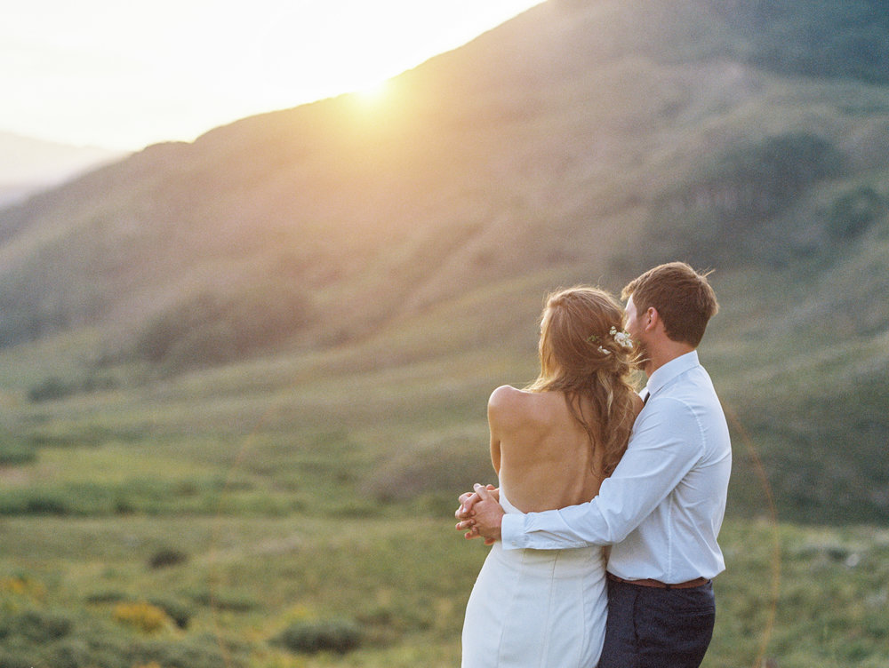 Steamboat Colorado Film Wedding Photography