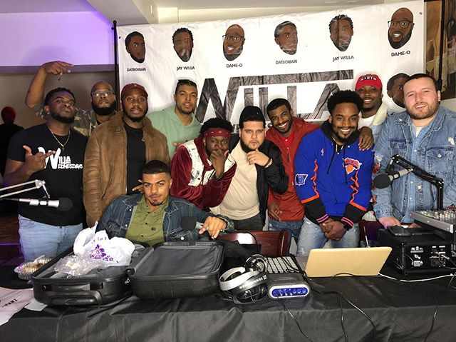 Last night was litt!!! We couldn't get everybody but Staten Island Showed Up heavy!! S/O @kotensrestaurant  for letting us rock out!! #WillaWednesday #thisisadameotrack #Brooklyn #statenisland #podcast #lifestyleblogger #Comedy #music