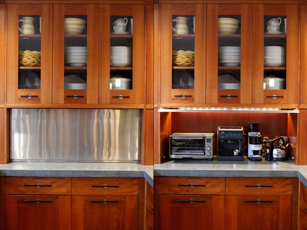 Hide The Clutter An Appliance Garage Diane Morgan Cooks