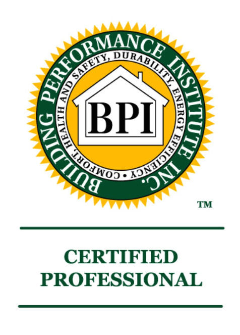 Building Performance Institute Inc. Certified Professional Logo