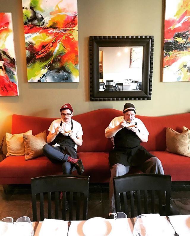 Seat down and eat your soup #bergamotbuzz #bisqcambridge #somerville #inmansquare #unionsquaresomerville #chefs