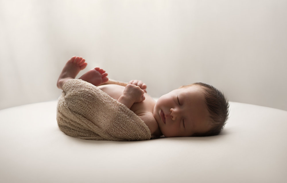 Preemie Newborn Studio Portrait