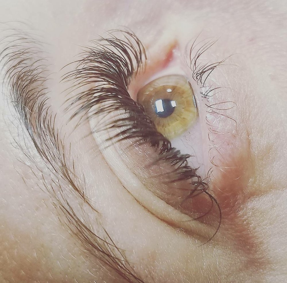 Classic Full Set- $185 - Our most popular service! Classic lash extensions applied 1:1. A single lash extension applied to each individual natural lash, enhancing what you already have. This is for those looking for a fuller and longer lash appearance, but still want to maintain a