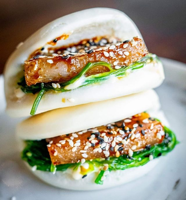 These steamed duck #bao #buns are fast becoming a Henrys favourite.