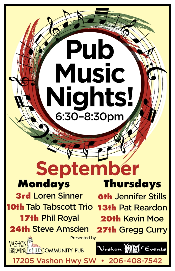 Vashon Brewing Pub Music poster September.jpg