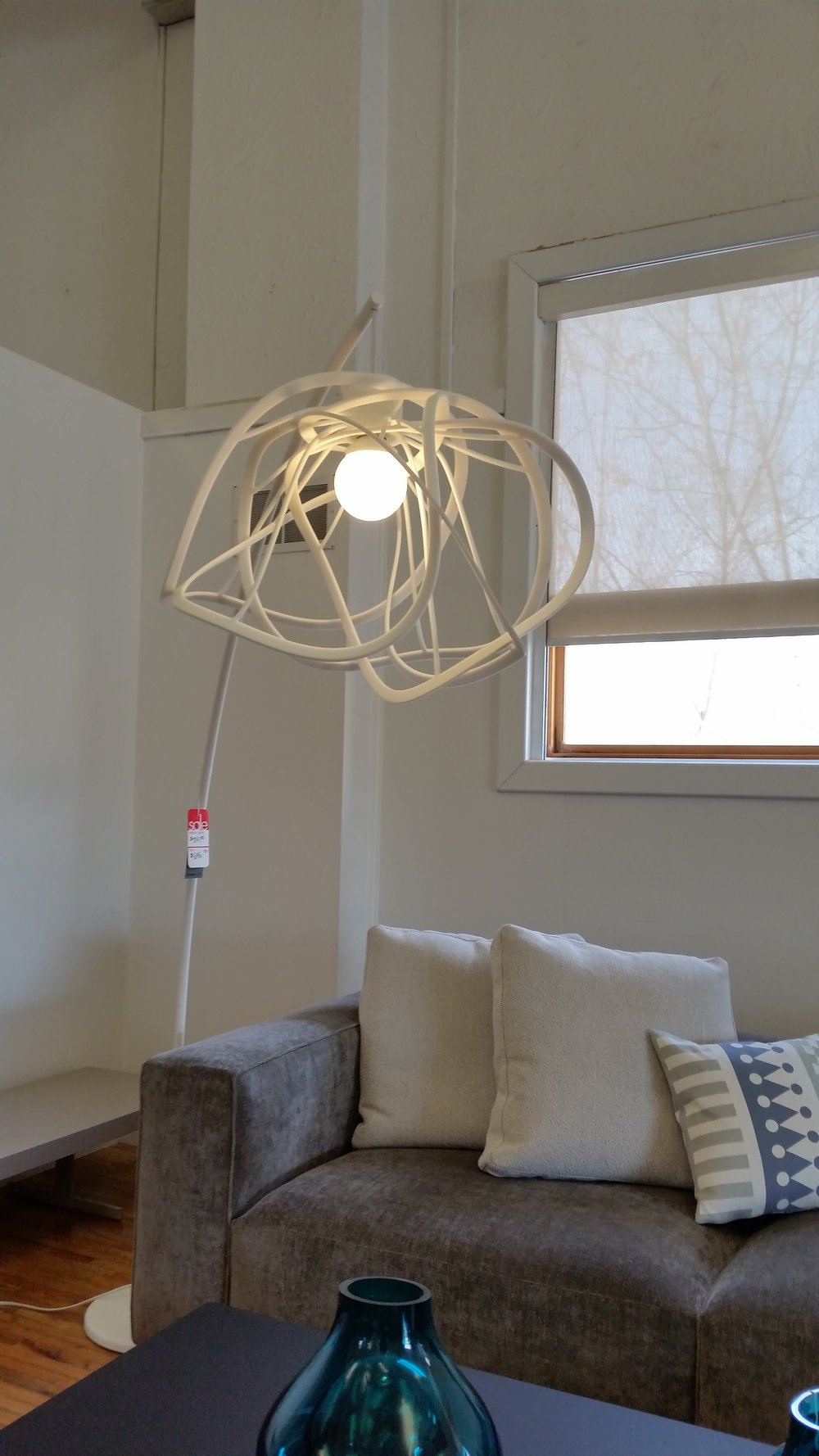 Linge roset france bloom floor lamp