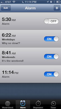 There's no way to reset a snooze without dangerously disabling the alarm.