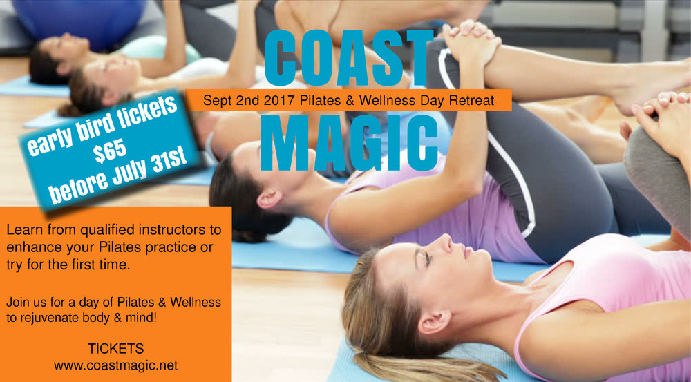 Coast Magic Pilates Day Retreat