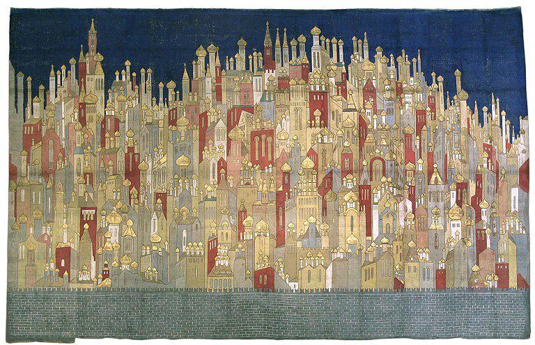 Goncharova, N.  Blackcloth for The Firebird . 1926