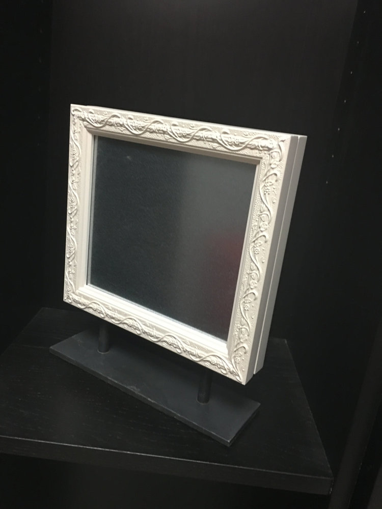 double sided magnetic frame display