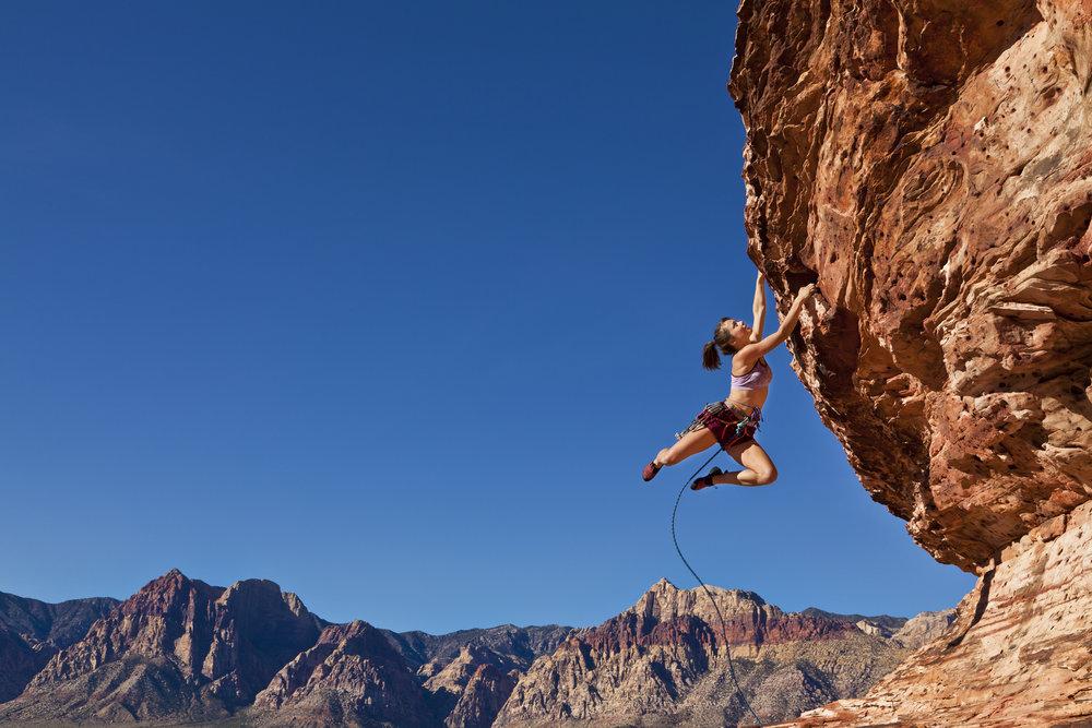 Hanging.