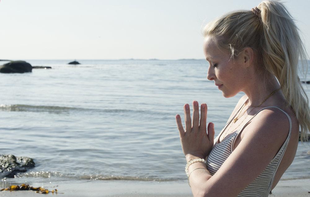 Namaste elskede sol, hav og strand  Foto: Anita Hamremoen