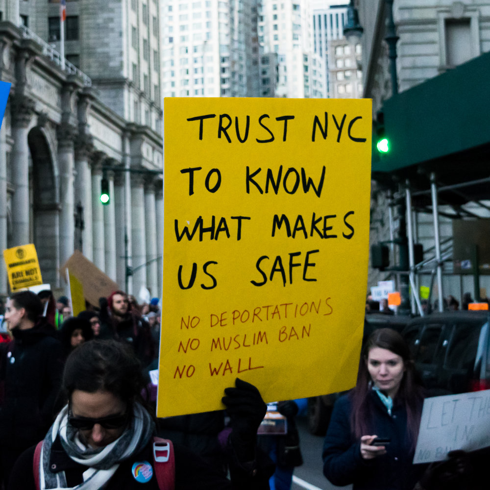 """Trust NYC To Know What Makes Us Safe"""