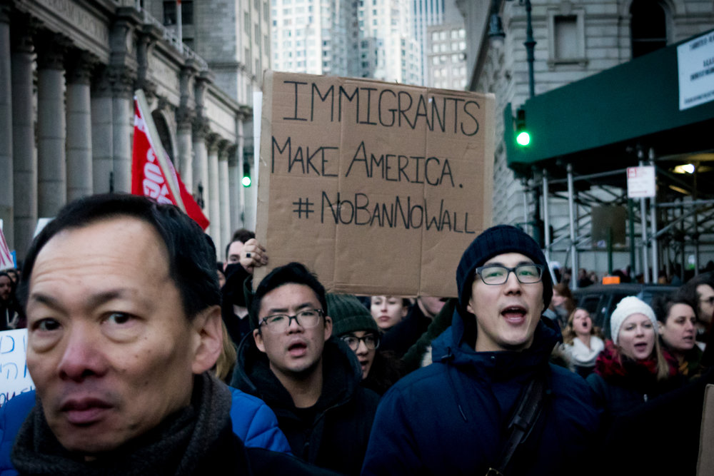 """Immigrants Make America"""