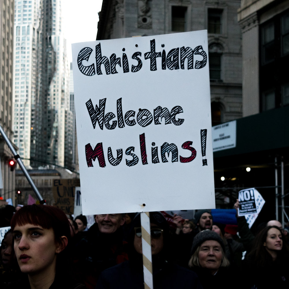 """Christians Welcome Muslims"""